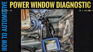How to Test a Power Window Motor with a Power Probe 2