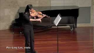 "Kyle Hovatter: ""Molten"" Solo Viola (2011) Pei-Ling Lin, viola Thumbnail"