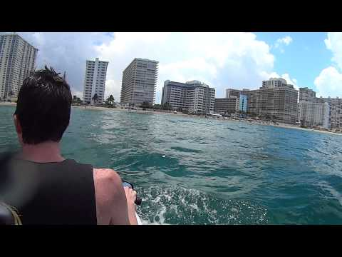 Jet ski fun in Ft. Lauderdale