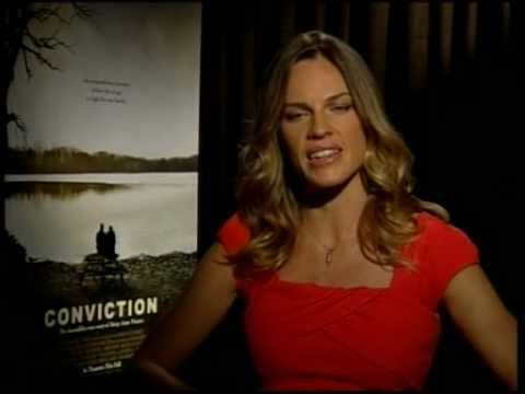 """Hilary Swank Talks About """"Conviction!"""""""