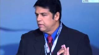 Parakash Ramadhar, Minister of Legal Affairs Trinidad & Tobago at Jalsa UK 2014