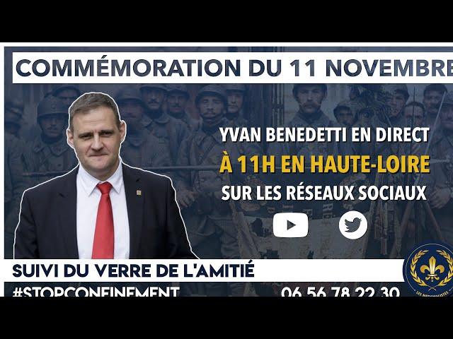 Commémoration (Confinée) du 11 Novembre
