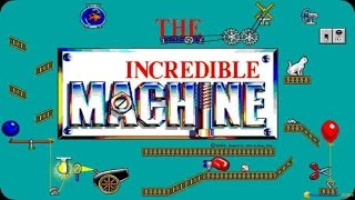 The Incredible Machine gameplay (PC Game, 1992)