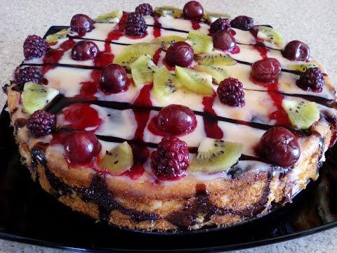 Творожная запеканка с ягодами - рецепт с фото
