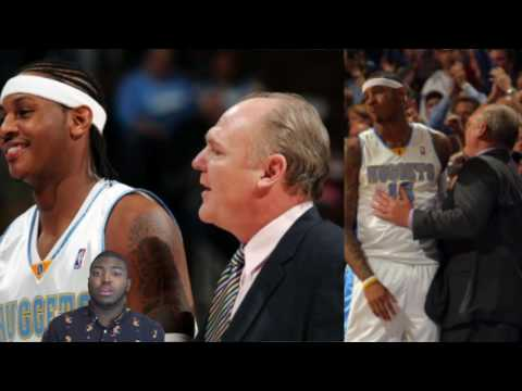 """Carmelo Anthony Dissed By Former Coach George Karl, """"He"""