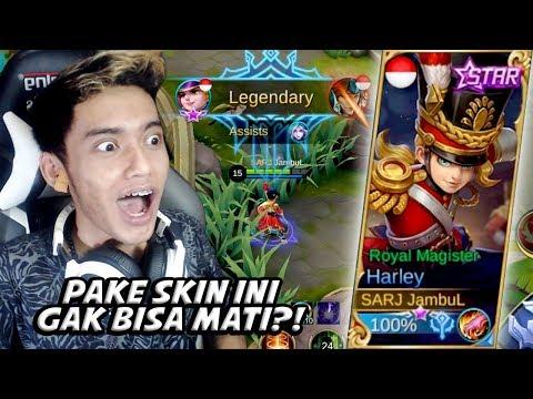 GAK MATI-MATI PAKE SKIN HARLEY STARLIGHT INI! - Mobile Legends Indonesia