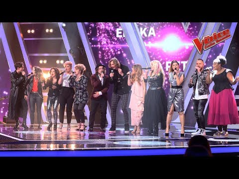 Společný song finalistů - Kelly Clarkson : Stronger | The Voice Česko Slovensko 2019