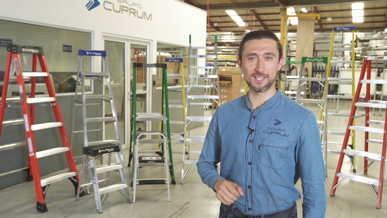 Capacitación en el uso y manejo seguro de escaleras Cuprum