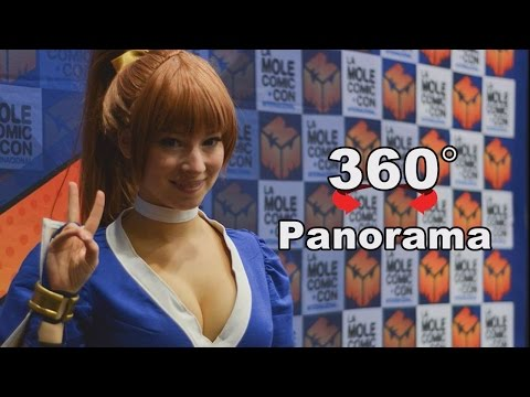 360 Panorama: Join us for fun at Cosplay Competition of Mexican Comic Convention 2017