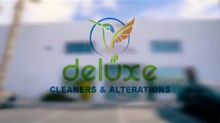 Welcome to Deluxe Cleaners
