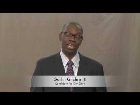 Garlin Gilchrist - City Clerk