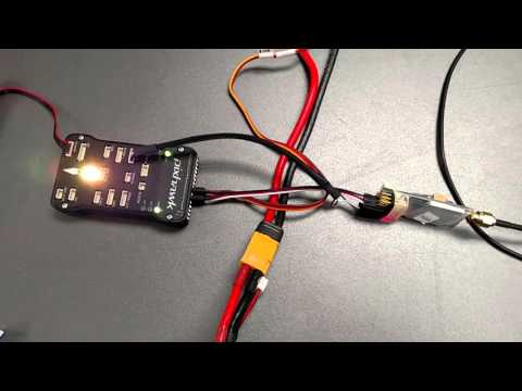 XLRS_D2  Pixhawk MAVLink Flight (Test 001) by Digital Micro Devices SL