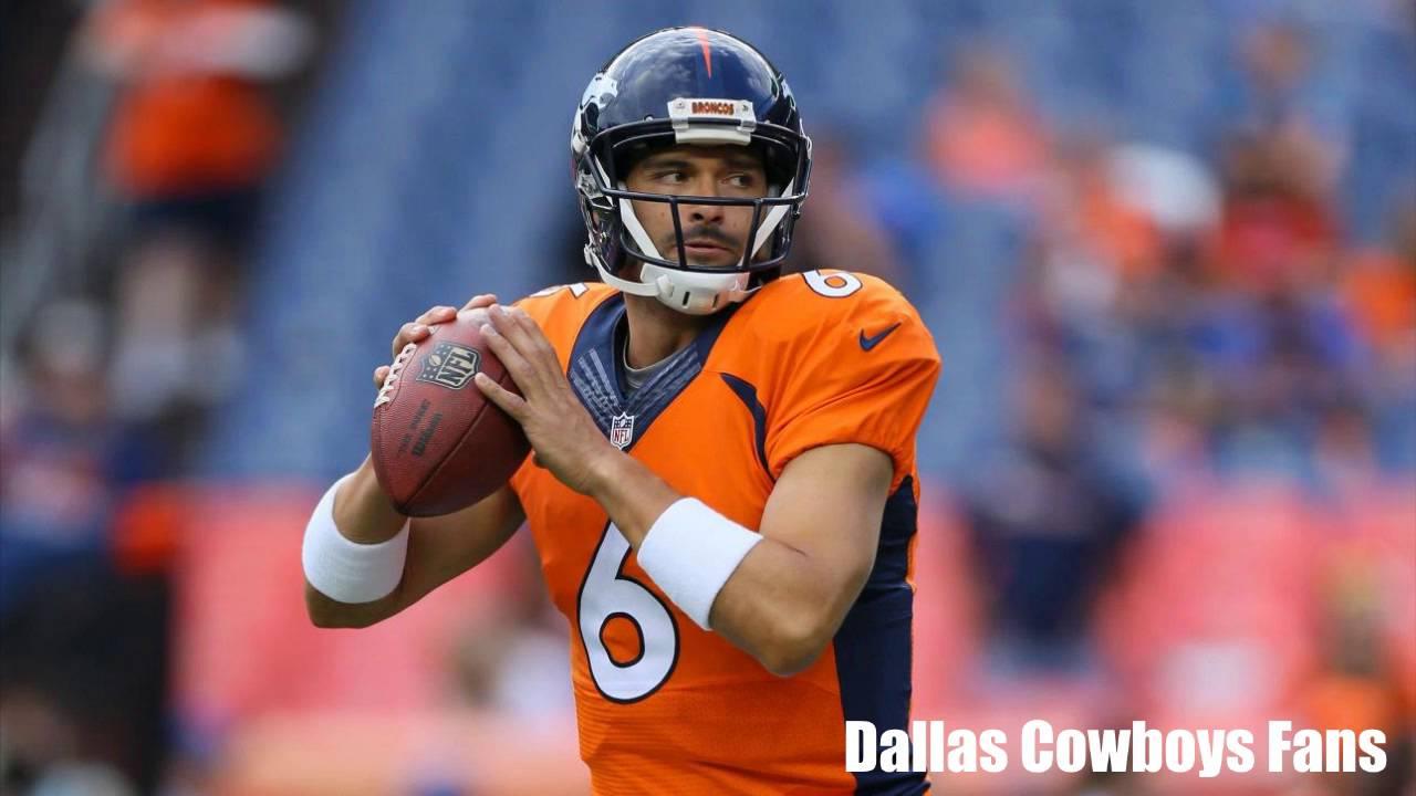 3d8116b7395 Dallas Cowboys To Acquire Veteran QB Mark Sanchez l NFL NEWS - YouTube