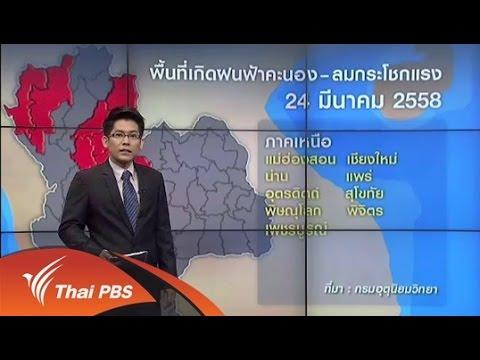 กรมอุตุฯ เตือนทุกภาคของไทยเฝ้าระวังพายุฤดูร้อน