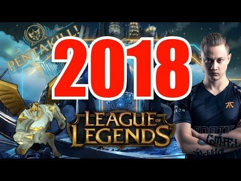 LAS MEJORES JUGADAS del 2018 LEAGUE OF LEGENDS 🔴 thumbnail