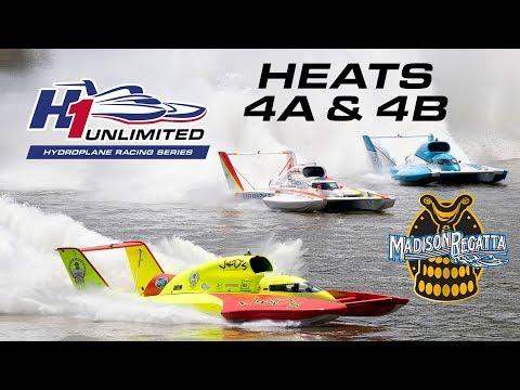 2019 APBA Gold Cup Madison Regatta Heats 4A & 4B