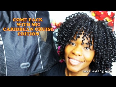 Pack For A Caribbean Cruise| PrettyPRChickTV