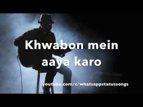 Mujhe neend aati nahi hai akele - UnPlugged || WhatsApp Status Songs || Love