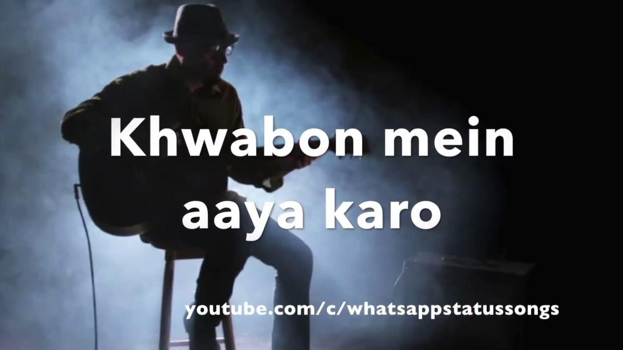 Mujhe neend aati nahi hai akele - UnPlugged    WhatsApp Status Songs    Love