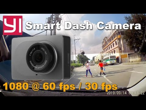 YI Smart Dash Cam - 1080 60fps / 30fps Video Test