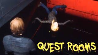 【4人実況】絶対クリアできない即死だらけの笑えるゲーム『 QUEST ROOMS 』