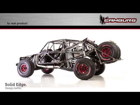 Solid Edge University 2016 Keynote: Jerry Zaiden Of Camburg Racing