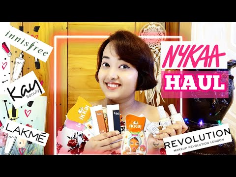 NYKAA HAUL | Lockdown sale haul | Make up online shopping from YouTube · Duration:  11 minutes 5 seconds