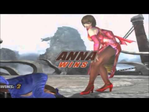 Tekken 5: Anna Williams All s & Win Poses