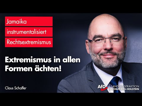 """Claus Schaffer (AfD): """"Kampf gegen alle Formen des Extremismus demokratische Selbstverständlichkeit"""""""