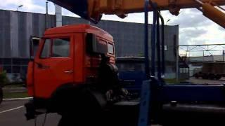 UDS 114 KAMAZ RIAT 53228(Экскаватор планировщик UDS-114 на шасси КАМАЗ-53228 с планировочным ковшом. Надстройка ЦСМ-Тисовец, Словакия...., 2011-05-30T06:43:59.000Z)