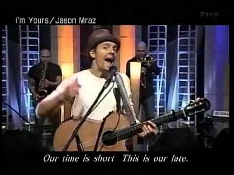 Jason Mraz - I'm Yours - Japan