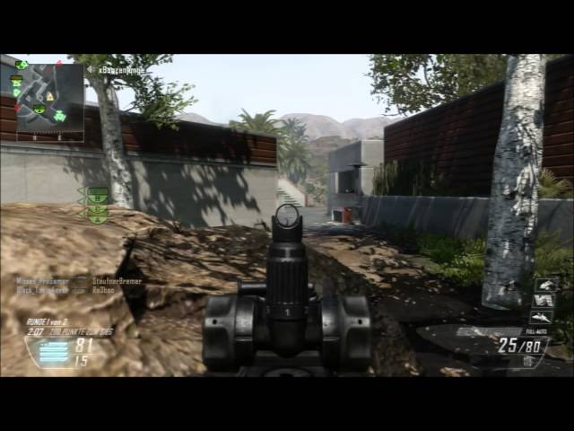 Bo2 Scar Nuklear auf Raid Travel Video