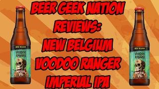 New Belgium Voodoo Ranger Imperial IPA| Beer Geek Nation Craft Beer Reviews