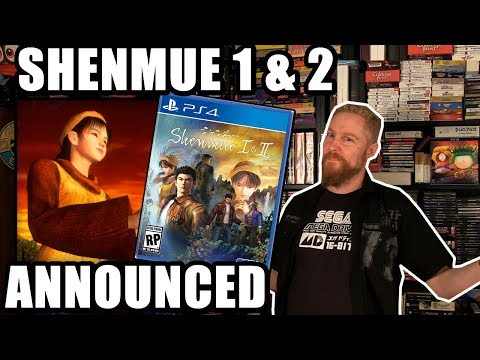 SHENMUE 1 & 2 HD ANNOUNCED! - Happy Console Gamer