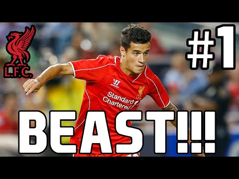 COUTINHO ÄR BEAST! - FIFA 15 Liverpool Karriär #1