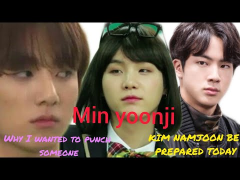 Bts texts - first time meeting yoonji( jinkook jealous 😡)