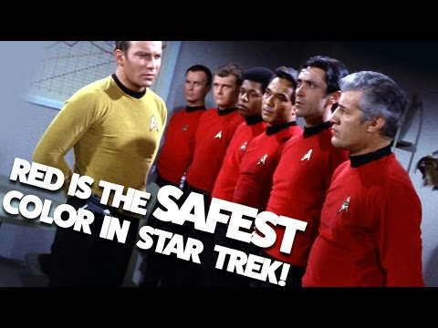 Red Shirts Are the Safest - Debunking a Star Trek Myth