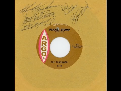 The Trashmen - Ubangi Stomp b/w Bird '65 - 45 Single