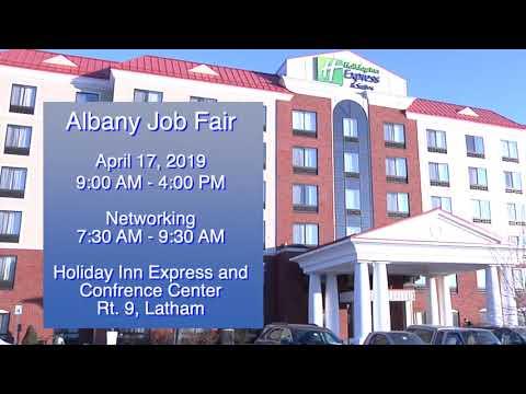 The 2019 Albany NY April 17 Job Fair