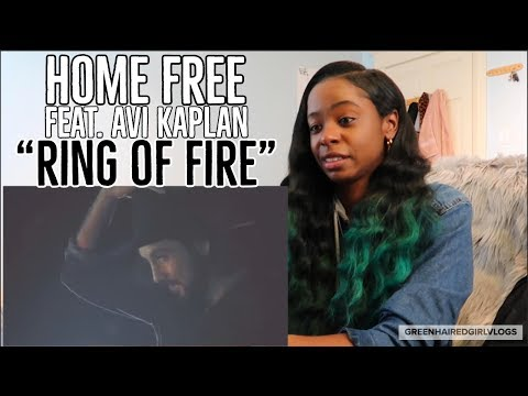 Home Free - Ring of Fire (featuring Avi Kaplan of Pentatonix) REACTION!!!