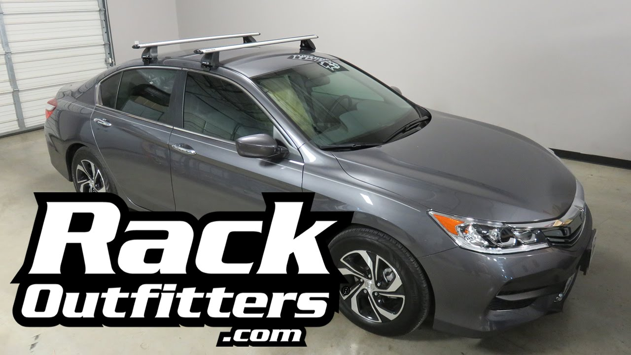 Honda Accord 4 Door With Rhino Rack 2500 Vortex Roof Crossbars