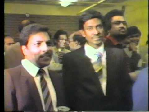 Jaffna Central London First OBA gathering 1986 with Principal Sabalingam 7 of 10