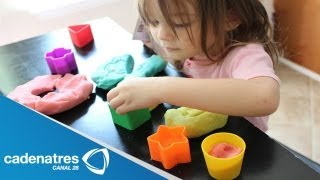 Aprende a hacer plastilina casera/ learn to make homemade playdough