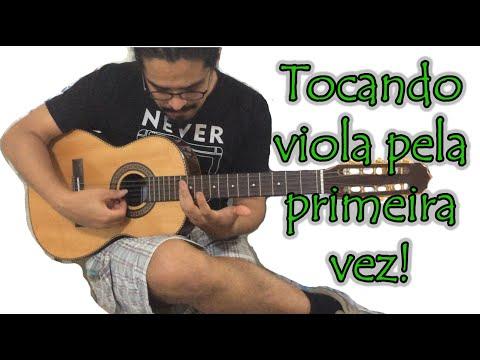 A casa (Vinicius de Moraes) - Viola Caipira - Tocando viola pela primeira vez!