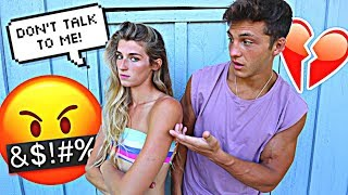 Getting MAD At EVERYTHING Prank On Boyfriend