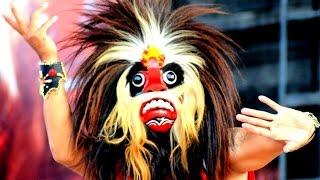 BUJANG GANONG Reog Ponorogo DADAK MERAK Ganongan Giant mask Dance HD