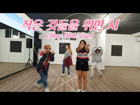 BTS - Boy With Luv (cute Ver.)  작은 것들을 위한 시 [Pink Milk Dance Cover]