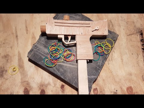 MAC 10 FULL AUTO RUBBER BAND GUN