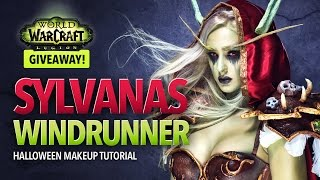 WoW: Legion - Sylvanas Windrunner Halloween Makeup Tutorial