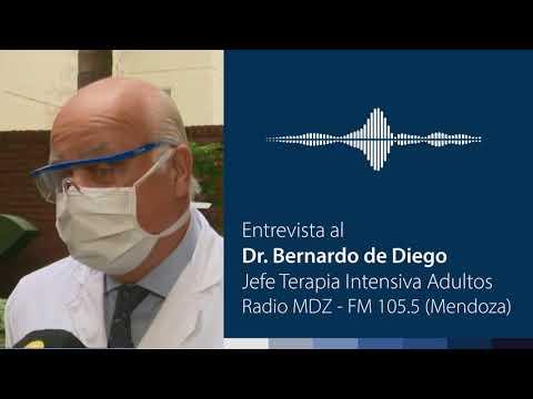 Dr. Bernardo de Diego - Radio MDZ (Mendoza)